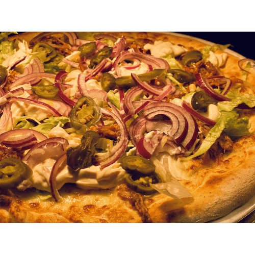 PULLED PIZZA HOT